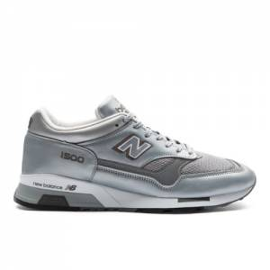 New Balance 1500 Made in UK Men's Sneakers Shoes - Silver (M1500JBS)
