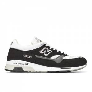 New Balance 1500 MADE IN UK Men's Lifestyle Shoes - Black / White (M1500KGW)