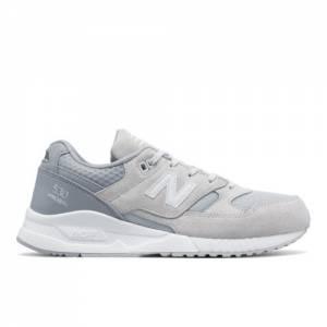 New Balance 530 Suede Men's Running Classics Shoes - Light Grey / Grey (M530SPD)