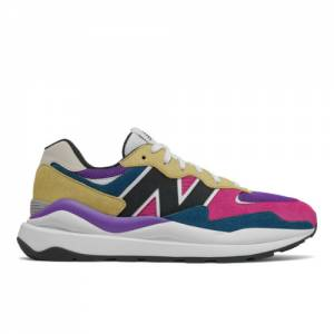 New Balance 57/40 Men's Lifestyle Shoes - Green / Gold (M5740GB)
