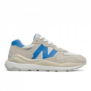 New Balance 57/40 Men's Lifestyle Shoes - Off White / Blue (M5740SA1)