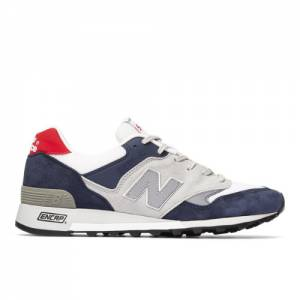 New Balance MADE IN UK 577 Men's Lifestyle Shoes - Blue / White (M577GWR)