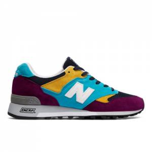 New Balance 577 Made in UK Men's Lifestyle Shoes - Purple (M577LP)