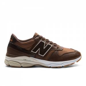 New Balance 770.9 Made in UK Men's Running Shoes - Brown (M7709LP)