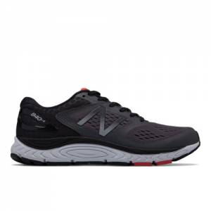 New Balance 840v4 Men's Neutral Cushioned Shoes - Black (M840GR4)