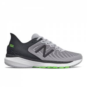 New Balance Fresh Foam 860v11 Men's Stability Running Shoes - Grey / Black (M860A11)