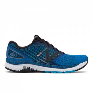 New Balance 860v9 NYC Marathon Men's Stability Running Shoes - Blue (M860NY9)