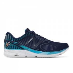 New Balance 890v6 Boston Men's Neutral Cushioned Shoes - Pigment / Navy (M890BO6)