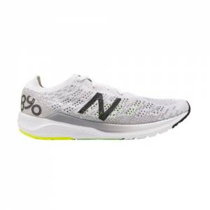 New Balance 890v7 Men's Neutral Cushioned Running Shoes - White (M890WB7)
