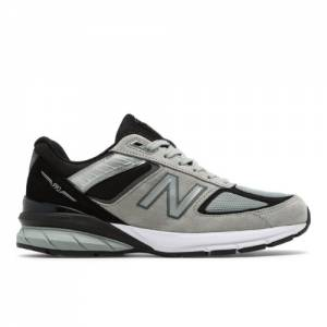 New Balance Made in USA 990v5 Men's Lifestyle Shoes - Grey / Black (M990GB5)