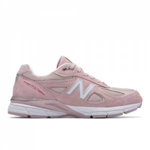 New Balance 990v4 Pink Ribbon Men's Made in USA Shoes - Faded Rose (M990KMN4)