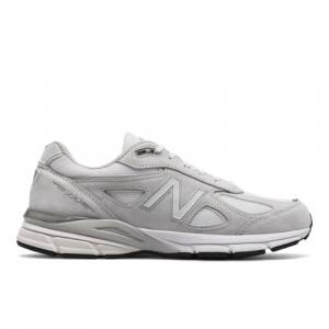 New Balance 990v4 Made in USA Men's Shoes - Grey / White (M990NC4)