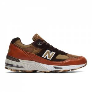 New Balance Made in UK 991 Men's Lifestyle Shoes - Brown (M991SOP)