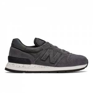 New Balance 995 Northern Lights Made in USA Men's Sneakers Shoes - Grey / Black (M995SYG)