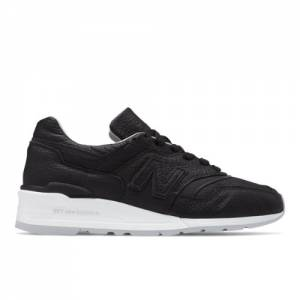New Balance 997 Made in USA Men's Shoes - Black (M997BSO)