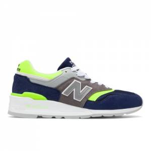 New Balance 997 Made in USA Men's Shoes - Blue (M997LBL)