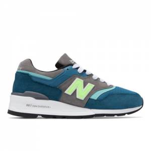New Balance 997 Made in USA Men's Sneakers Shoes - Blue (M997PAC)