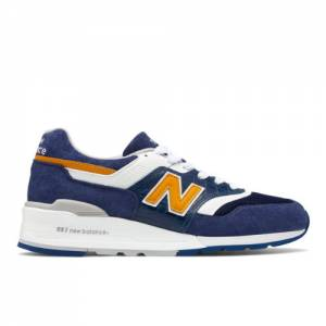 New Balance 997 Made in USA Men's Lifestyle Shoes - Blue / White (M997PAN)