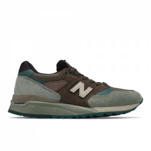 New Balance 998 Made in USA Men's Sneakers Shoes - Brown (M998AWA)