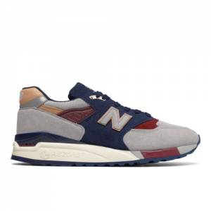New Balance 998 Desert Heat Made in USA Men's Shoes - Grey / Navy (M998CSU)