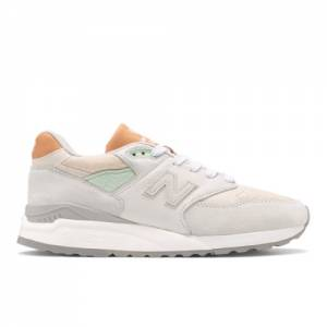New Balance Made in USA 998 Men's Lifestyle Shoes - White (M998ENE)