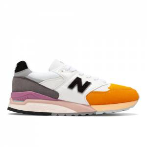 New Balance Made in USA 998 Men's Shoes - White (M998PSD)
