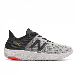 New Balance Fresh Foam Beacon v2 Men's Running Shoes - Grey (MBECNGR2)