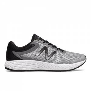 New Balance Fresh Foam Boracay v3 Men's Soft and Cushioned Shoes - Silver / Black / White (MBORASR3)