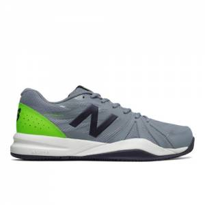 New Balance 786v2 Men's Tennis Shoes - Grey / Green (MC786GR2)