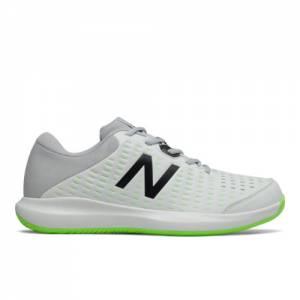 New Balance 696v4 Men's Tennis Shoes - White (MCH696E4)