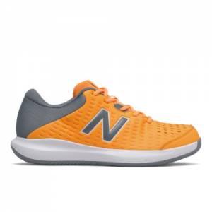 New Balance 696v4 Men's Tennis Shoes - Yellow (MCH696U4)