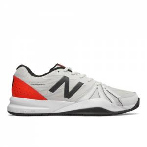 New Balance 786v2 Men's Tennis Shoes - Off White / Red (MCH786P2)