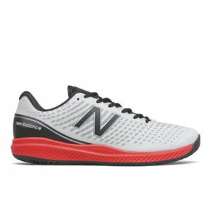 New Balance 796v2 Men's Tennis Shoes - White / Red (MCH796A2)