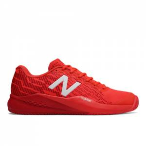 New Balance 996v3 Tournament Men's Tennis Shoes - Flame Red (MCH996F3)