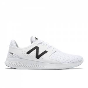 New Balance FuelCore Coast v3 Men's Speed Running Shoes - White / Black (MCOASLW3)