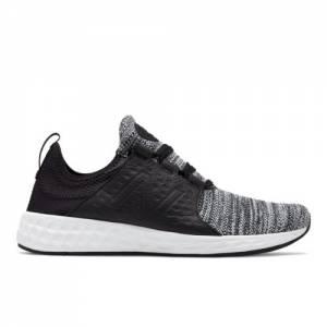 New Balance Fresh Foam Cruz Men's Neutral Cushioned Shoes - Black (MCRUZKB)