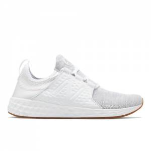 New Balance Fresh Foam Cruz Men's Neutral Cushioned Shoes - White (MCRUZKW)