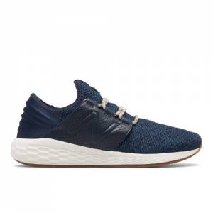 New Balance Fresh Foam Cruz v2 Brooklyn Half Men's Neutral Cushioned Shoes - Navy / White (MCRUZNY2)