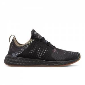New Balance Fresh Foam Cruz Men's Soft and Cushioned Running Shoes - Black / Green (MCRUZPF)