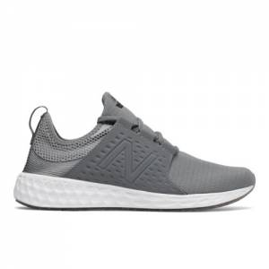 New Balance Fresh Foam Cruz Sport Men's Soft and Cushioned Running Shoes - Silver / Grey (MCRUZSG)