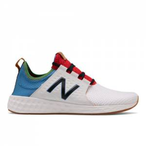 New Balance Fresh Foam Cruzv1 Reissue Men's Lifestyle Shoes - White (MCRZRWC)