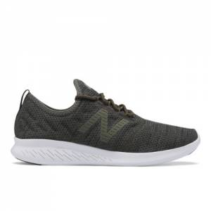 New Balance FuelCore Coast v4 Hoodie Men's Neutral Cushioned Shoes - Green (MCSTLRF4)