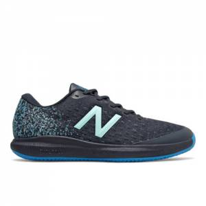 New Balance Clay Court FuelCell 996v4 Men's Tennis Shoes - Dark Blue (MCY996F4)
