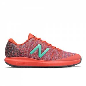 New Balance Clay Court Fuel Cell 996v4 Men's Tennis Shoes - Orange (MCY996G4)