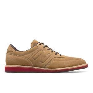 New Balance 1100 Leather Suede Men's Walking Shoes - Brown / Maroon (MD1100DB)