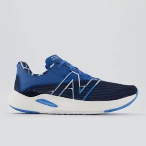 New Balance FuelCell Rebel v2 Men's Running Shoes - Black / Blue (MFCXZ2)