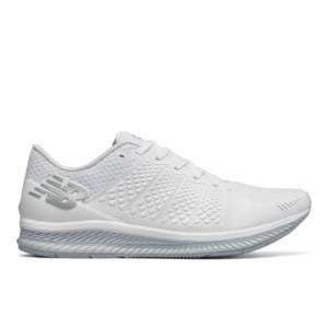 New Balance FuelCell Men's Speed Shoes - White / Grey (MFLCLWG)