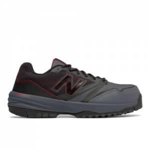 New Balance 589 Men's Work Shoes - Black / Red (MID589O1)