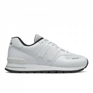 New Balance 574 Rugged Men's Lifestyle Shoes - White (ML574DTA)