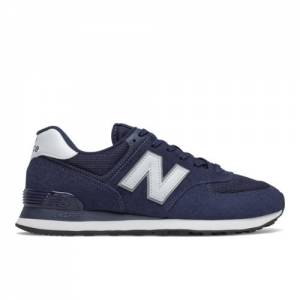 New Balance 574 Men's Lifestyle Shoes - Navy / White (ML574EN2)